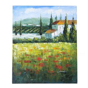 Original Oil on Canvas Impressionist Painting